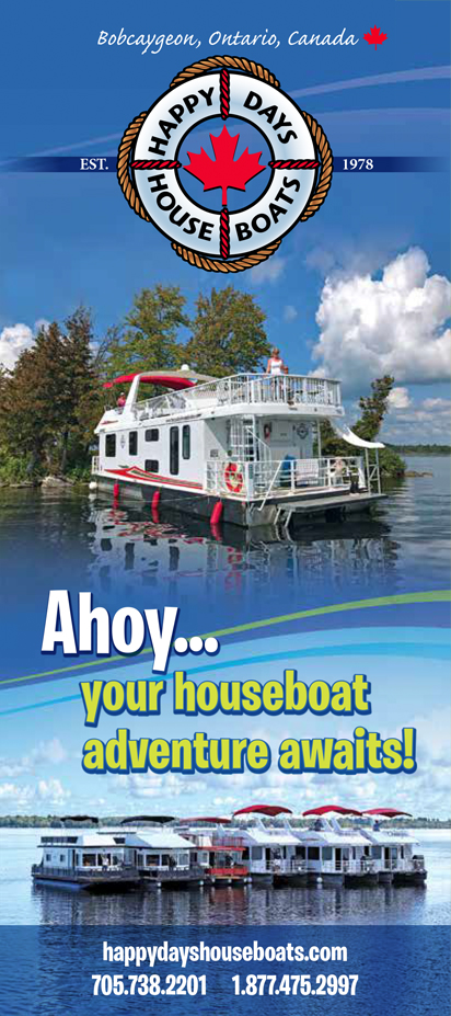 Happy Days Houseboats Brochure