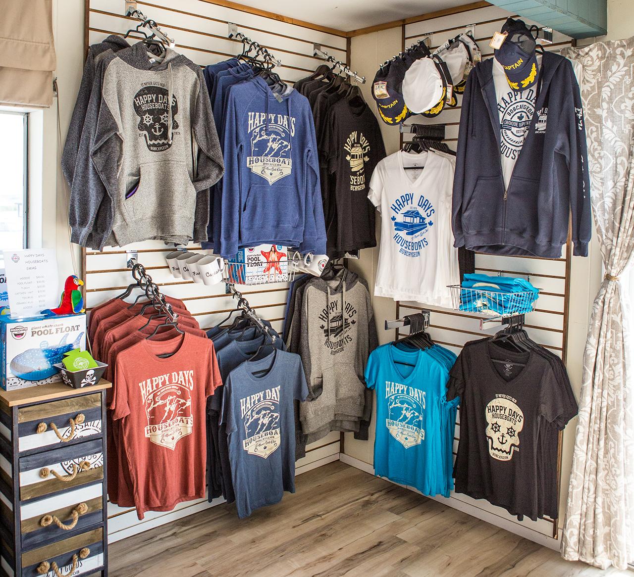 Happy Days Houseboats Merchandise